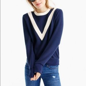 J Crew V Sweatshirt